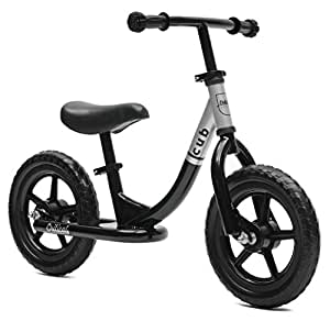 Critical Cycles Cub No-Pedal Balance Bike for Kids, Black