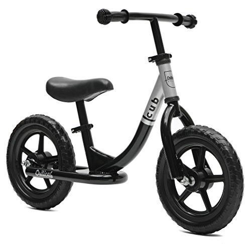 Critical Cycles Cub Kids Balance Bike No Pedal Bicycle