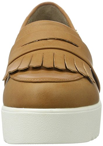 XTI Camel Pu Ladies Shoes . - Mocasines Mujer Beige (Camel)