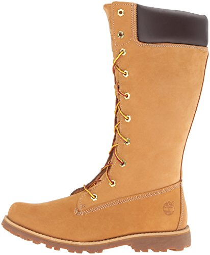 Classic Mixte up Timberland Jaune Tall Bottes Lace Enfant wheat dqxBv