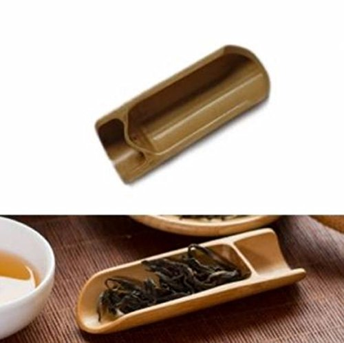 Natural Bamboo Tea Scoop Spoon Tea Leaves Chooser Holder Kungfu Tea Accessaries by STCorps7 from STCorps7