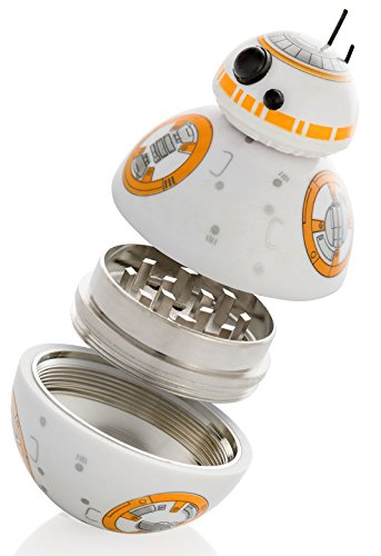 Star Wars Herb Grinder, BB-8 Droid Weed Grinder With Pollen Keef Catcher, Perfect Size 2
