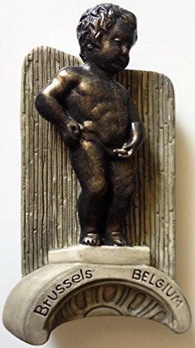 Manneken Pis Brussels Boy Statue Belgium Resin 3D fridge Refrigerator Thai Magnet Hand Made Craft. by Thai MCnets by Thai MCnets