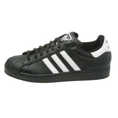 ADIDAS SUPERSTAR 2 II Schuhe Sneaker Weiss Schwarz