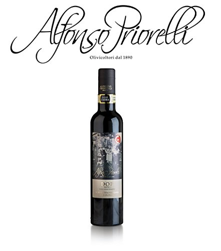 Alfonso Priorelli – Extra Virgin Olive Oil DOP Umbria Colli Assisi and Spoleto – 0,500 l – 12 Bottles Box