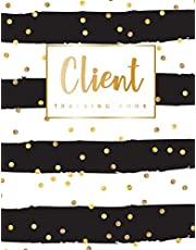 Client Tracking Book: Hairstylist Client Data Organizer Log Book with A - Z Alphabetical Tabs   Personal Client Record Book Customer Information   Appointment Management Book