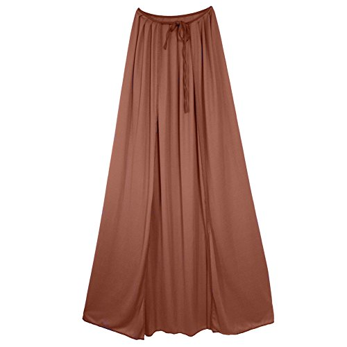 SeasonsTrading 60″ Adult Brown Cape ~ Halloween Costume Accessory