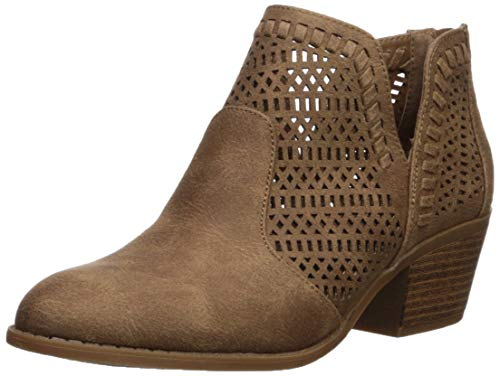 Fergalicious Women's Betrayal Ankle Boot, Sand, 8.5 M US