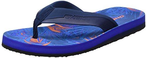 ONeill Jungen Fb Strike Flip Flops Zehentrenner Blau (5900 BLUE AOP)