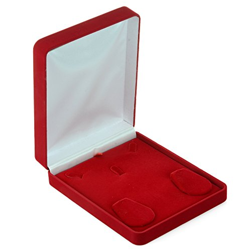 Geff House Rani Classic Necklace/Earring Jewelry Set Gift Box (Medium) ()