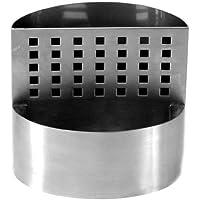Zojila satara Dos Compartimiento recipiente para utensilios de cocina, acero inoxidable cepillado
