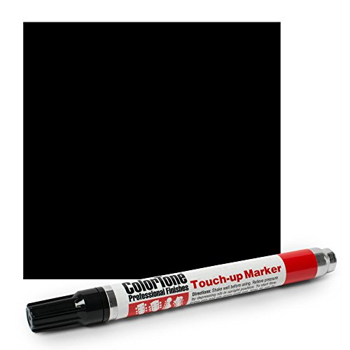 - ColorTone Touch-up Marker, Black Opaque Lacquer