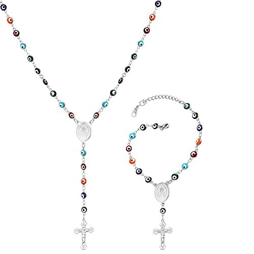 Rosary Set Necklace - 2