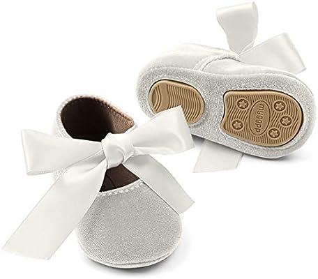 Isbasic Baby Girls Mary Jane Shoes Toddler Soft Sole Anti