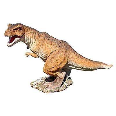 Design Toscano Scaled Jurassic T-Rex Raptor Dinosaur Statue : Garden & Outdoor