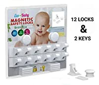 ✔ THE STRONGEST AND MOST DURABLE LOCKS IN THE MARKET    These baby magnetic safety locks use extremely strong 3M adhesive tape so they attach firmly without leaving marks.    Extra strong magnets work for most cabinets and drawers up to 2 inches. ...
