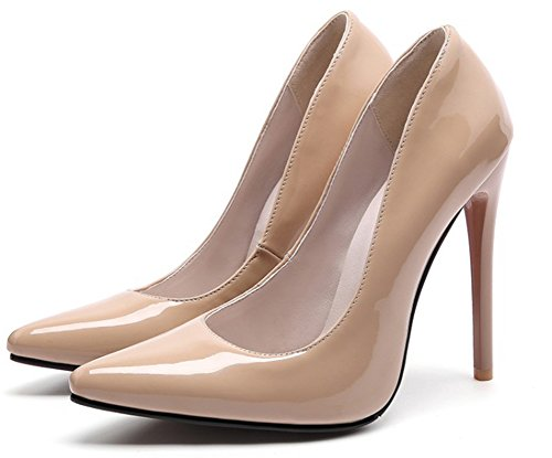 Basse Peu 12cm Soir Aisun Profonde Sexy Stiletto Femme nWR78