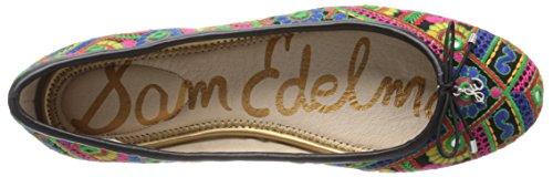 Sam Edleman Felicia - Bailarinas mujer Multicolor (Bombay Multi)