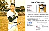 Ted Williams Autographed / Signed Posing with Bat 8x10 Photo (James Spence)