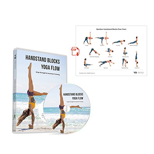 Handstand Blocks Yoga Flow [official] DVD & PDF Pose Chart | Grips Strength & Inversion Training with Lucas Rockwood & Gabi Om | by YOGABODY