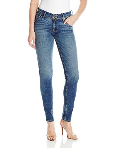 (Hudson Jeans Women's Collin Midrise Skinny Flap Pocket Jean, Contender 28)