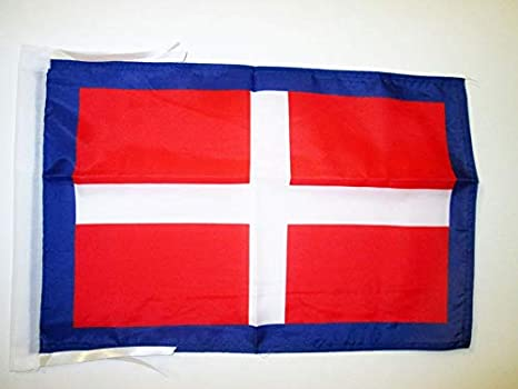 Piccola BANDIERINA Regno di SAVOIA 14 x 21 cm AZ FLAG Bandiera da Tavolo DUCATO di SAVOIA 21x14cm