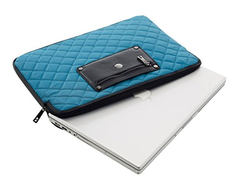 Knomo London Linen 11' Laptop Sleeve ~ DragonFly