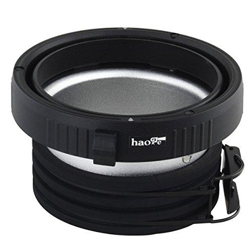 Haoge Profoto to Elinchrom Mount Speedring Ring Adapter Converter for Studio Light Strobe Flash - Profoto Studio Flash