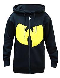 Wu-Wear Big Symbol Zipper Black Logo Zip Jacke Hoody Hoodie Wu-Tang Clan Wu Tang