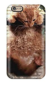 Best Scratch-free Phone Case For Iphone 6- Retail Packaging - Kitten Inside Aquarium