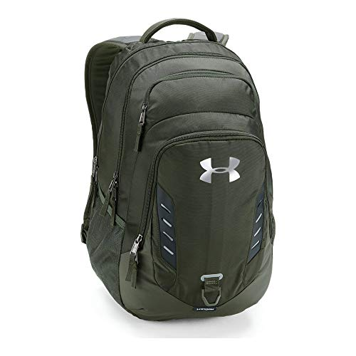 Under Armour Gameday Backpack, Artillery Green (357)/Silver, One Size - Under Armour Game Day Green