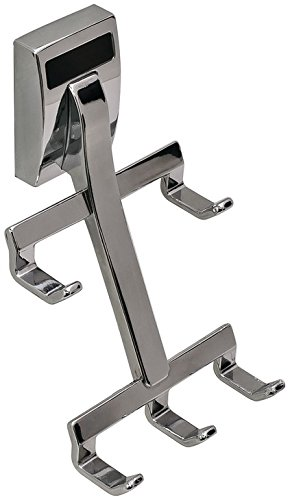 Belt Hook by Hafele, Synergy collection, cleat mount, polished chrome