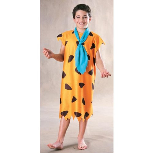 Flintstones Characters Halloween Costumes (Fred Flintstone Child Costume - Medium)