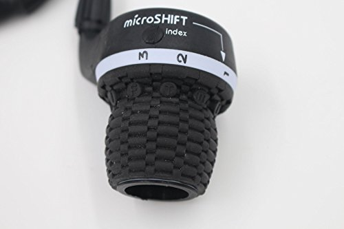 MicroShift 3X7 Speed Shimano Compatible Bicycle Twist Grip Shift Gear Shifters