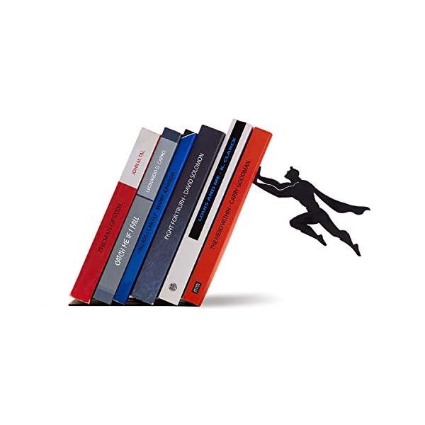 Sujetalibros Superhéroe de Artori Design   Regalos para lectores - Letras y Latte