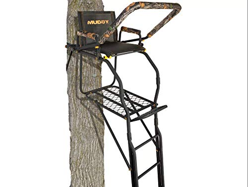 Muddy MLS1550 Skybox Deluxe Ladder Stand, 20