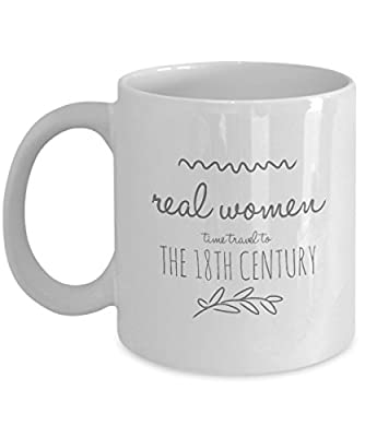 Real Women Time Travel Mug - Outlander - Jamie Fraser
