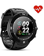 N NEWKOIN Smart Watches GPS Sportuhr Fitness Tracker Kompatibel iOS Android