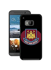 Fundas Caso para Htc One M9, West Ham United FC Football Logo Fundas Case Htc One M9 Artistic Fundas for Fans