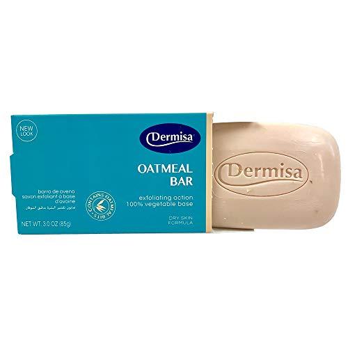 Dermisa Exfoliating Oatmeal Bar 3 oz (Dermisa Exfoliating Oatmeal)
