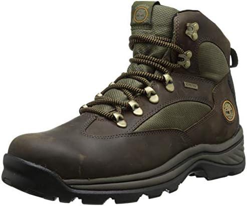Timberland Men s Chocorua Trail Waterproof Hiking Boot,Brown w Green,US 11.5 M