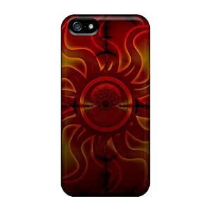 Tpu Case For Iphone 5/5s With E-Lineage Design