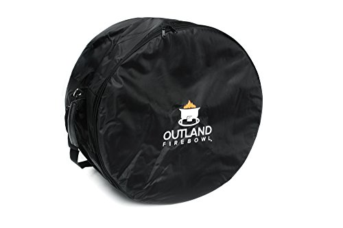 - Outland Firebowl UV and Weather Resistant 761 Mega Carry Bag, Fits 24-Inch Diameter Outdoor Propane Gas Fire Pit