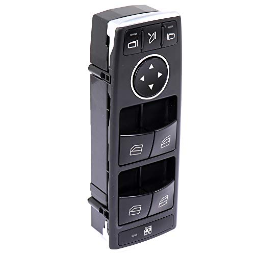 Window Switch Power Window Switch Master Control Power Window Switch Front Driver Side Replacement Parts fits for 2013-2014 Mercedes-Benz C250 2015-2016 E400 2013-2016 E550 2014-2015 GLK350 GLK350 ()