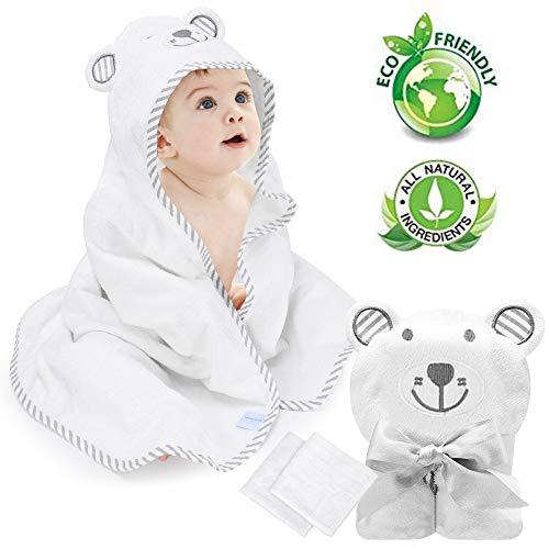 Eccomum Organic Toddlers Absorbent Washcloth
