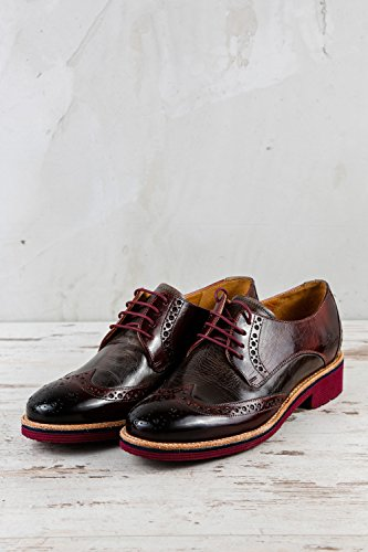 Lacets Rouge Hamilton Melvin Femme Rot pour de Ville amp; MH15 Chaussures à 805 OA8wUgAfq