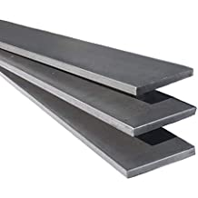 "Plain Finish Metal Stock 12/"" Long 4/"" Steel Flat Bar 1//4/"" Thick"