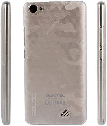 PREVOA Transparent Plastico Duro Funda Case Protictive para DOOGEE SHOOT 2 Smartphone: Amazon.es: Electrónica