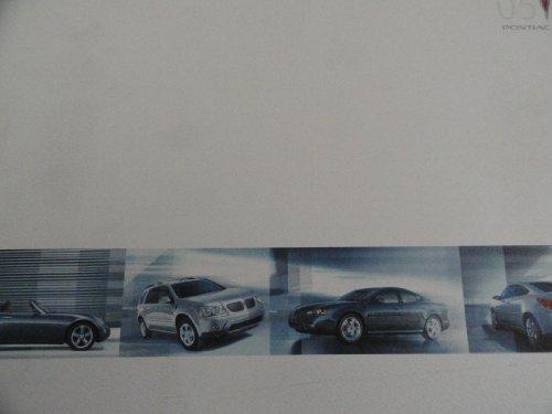 Brochure Pontiac Bonneville Sales (2005 Pontiac Solstice / G6 / GTO / Grand Prix / Bonneville / Vibe / Torrent / Montana Sales Brochure)
