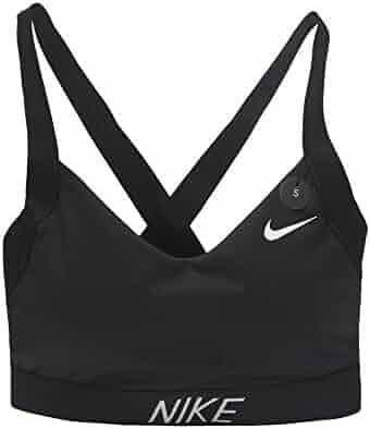 19c26fef84f5c NIKE Pro Indy Logo Back Women s Sports Bra womens sports bras 858584-010  Size S